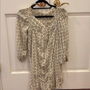 Isabel marant etoile dress floral long sleeve